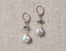 Drop of Moonlight Earrings