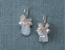 Gemstone Corsage Earrings