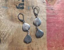 Double Eucalyptus Earrings