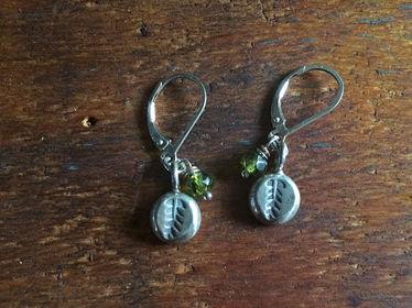 Gemstone Charmer Earrings Vesuvianite