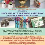 The Ridge Fine Art & Handmade Wares Show