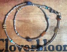 pietersite kaleidoscope necklace