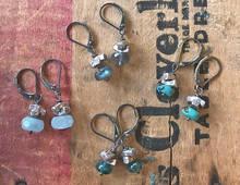 Criss-Cross Bar Earrings