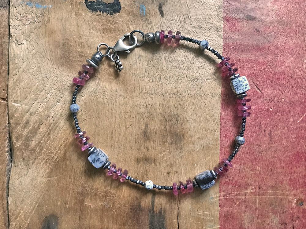 Frozen Raspberries Bracelet