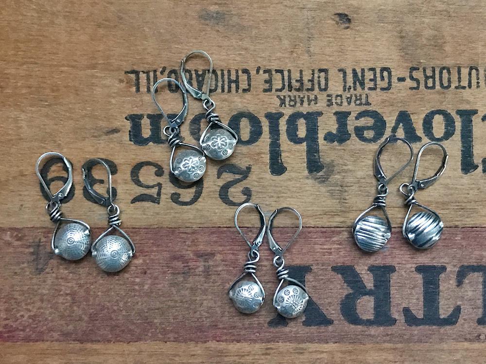Petite Wire Formed Earrings