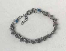 K2 labradorite double strand bracelet