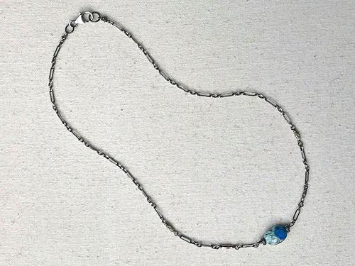 K2 gemstone choker necklace