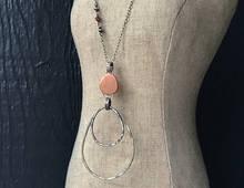 Copper Medallion Pendant Necklace
