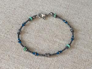 chrysoprase gemstone bracelet