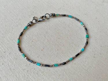 turquoise & Thai silver Bracelet