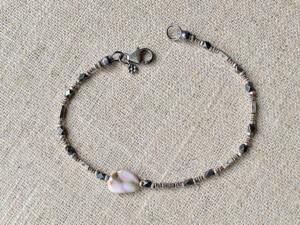 Ocean Jasper & Thai Silver Bracelet
