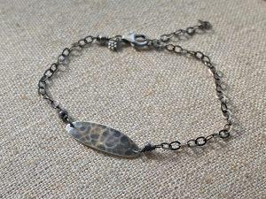 sterling crevice bracelet